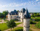 Les chambres, refuges zen au cœur d'un château historique